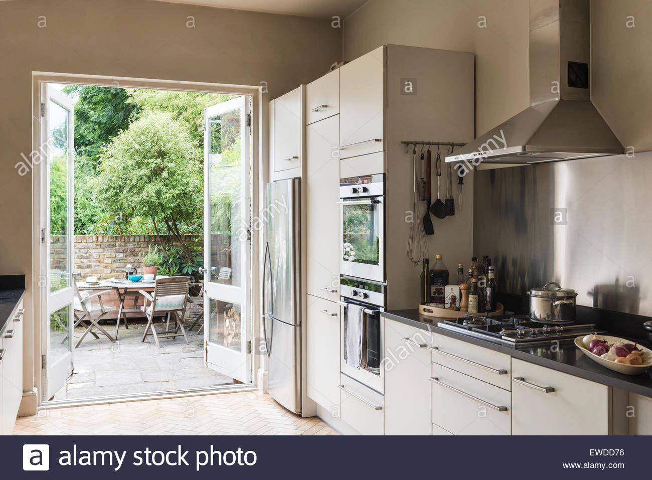 kitchens with french windows - Google Search