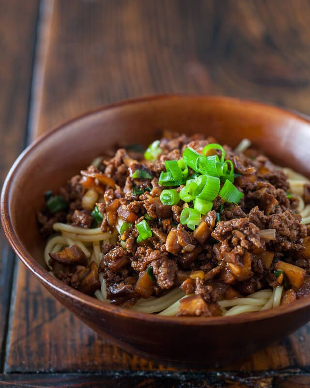 Taiwanese Noodles With Meat Sauce Recipe Recipe Taiwanese Cuisine Recipes Taiwanese Noodle Recipe