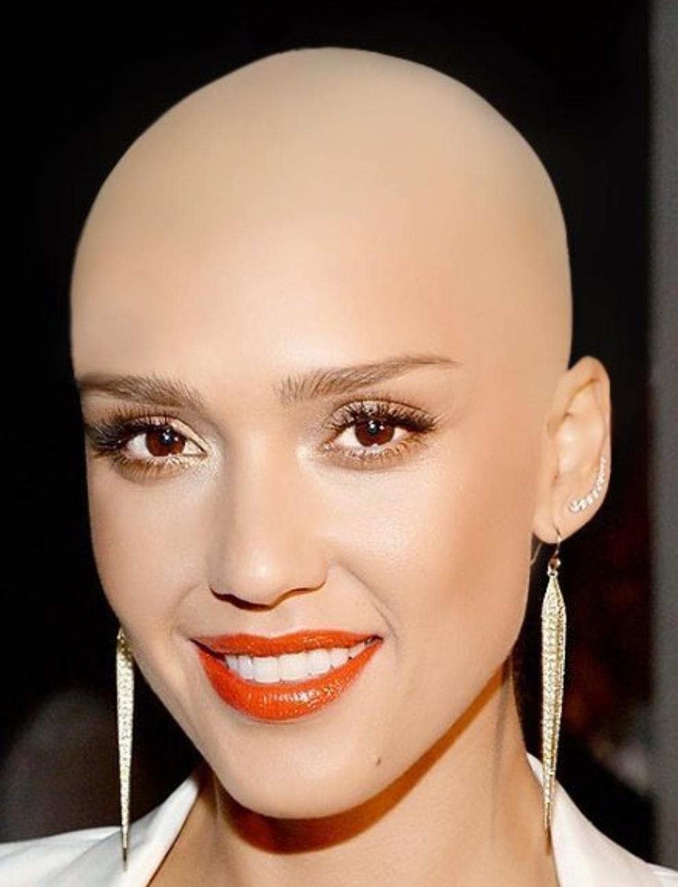 pin on bald beauty