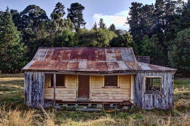 Old house, Kimbell, Canterbury, New Zealand | Flickr - Photo Sharing!