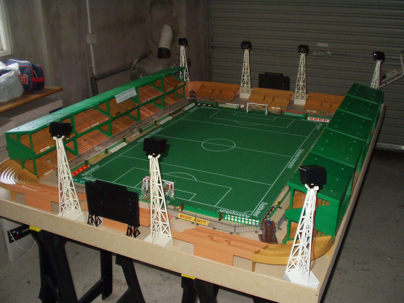 8 Floodlight Subbuteo Stadium Subbuteo Table Soccer