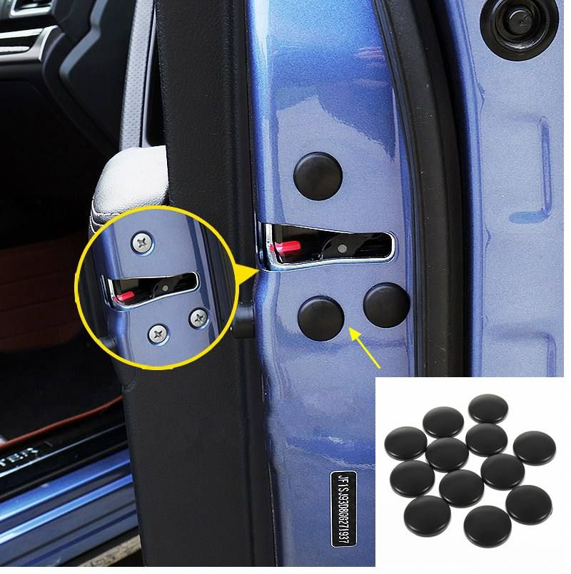 1set Car Door Lock Cover Stopper Protection For Toyota Highlander Rav4 Camry Vios Interior Accessories Car Door Lock Electronic Products