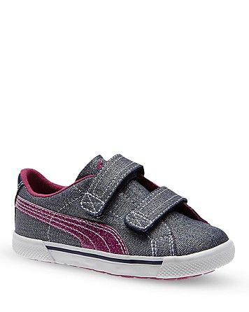 f9cccf9cf5fd PUMA Toddler Girls  Benecio Denim V Sneakers - Sizes 5-7 Child  8-10 Toddler