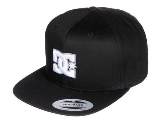 Snappy Anthracite Snapback Cap by DC  184b368cdbf
