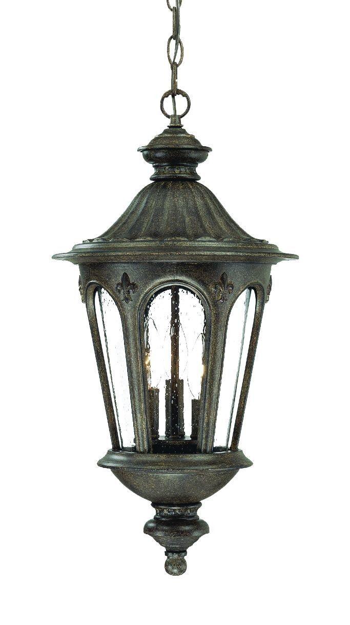 Marietta 3 Light Outdoor Hanging Lantern