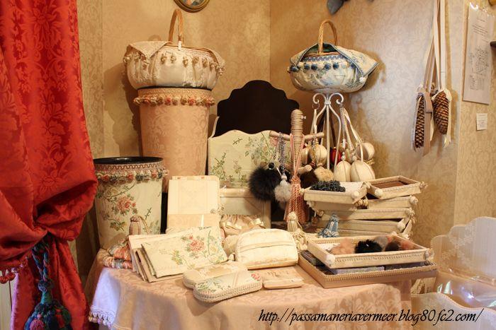 ショールーム・・・「Chez Mimosa シェ ミモザ」   ~Tassel&Fringe&Soft furnishingのある暮らし~   フランスやイタリアのタッセル・フリンジ・ファブリック・小家具などのソフトファニッシングで、暮らしを彩りましょう。  http://passamaneriavermeer.blog80.fc2.com/