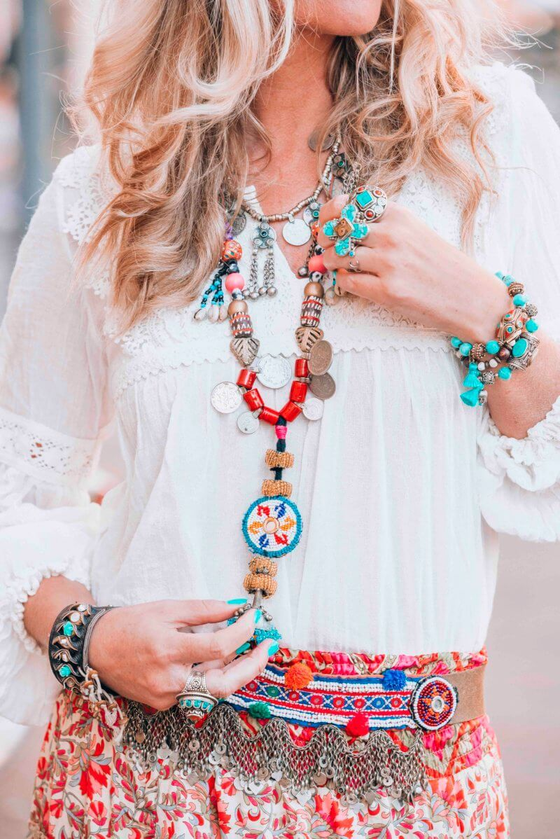 Hippie necklace-IBIZA
