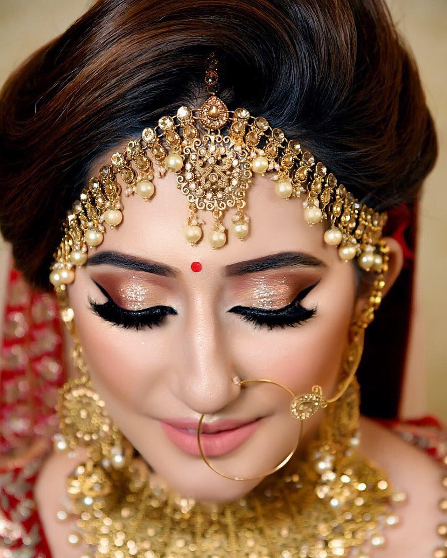 A Beautiful Bridal Look On The Gorgeous Goofytalkies