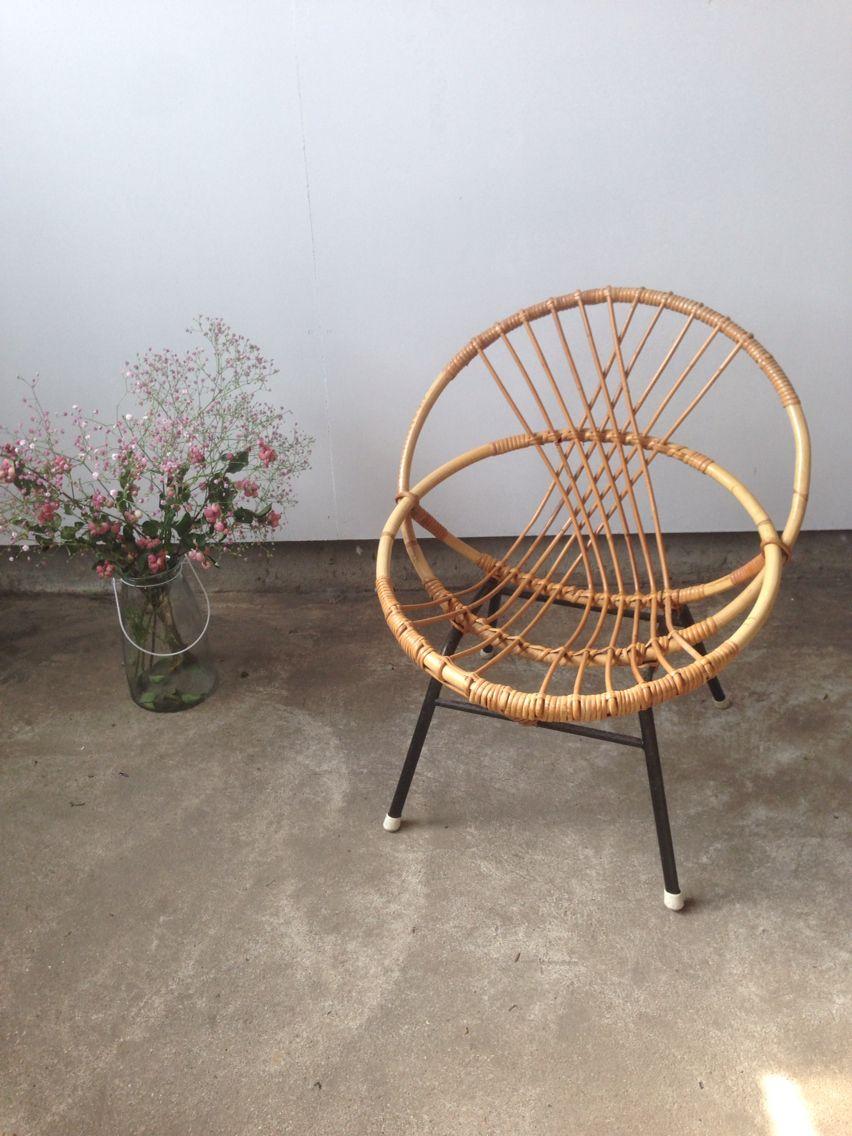 Vintage Rohe Stoel.Vintage Retro Noordwolde Rohe Rotan Stoel Chair Seats Pinterest