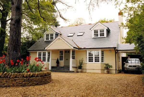 bungalow to a chalet style conversion after - Bungalow Conversion Ideas