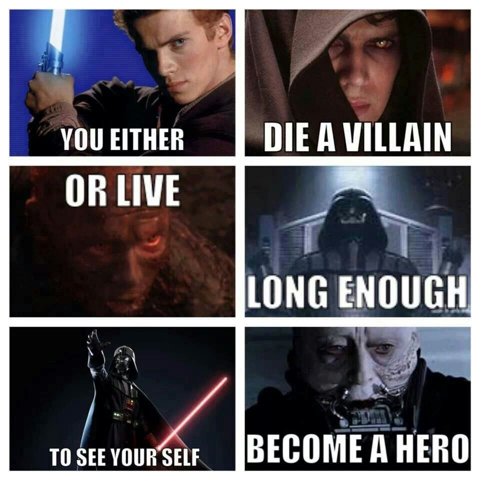 Become A Hero With Images Star Wars Memes Star Wars Nerd