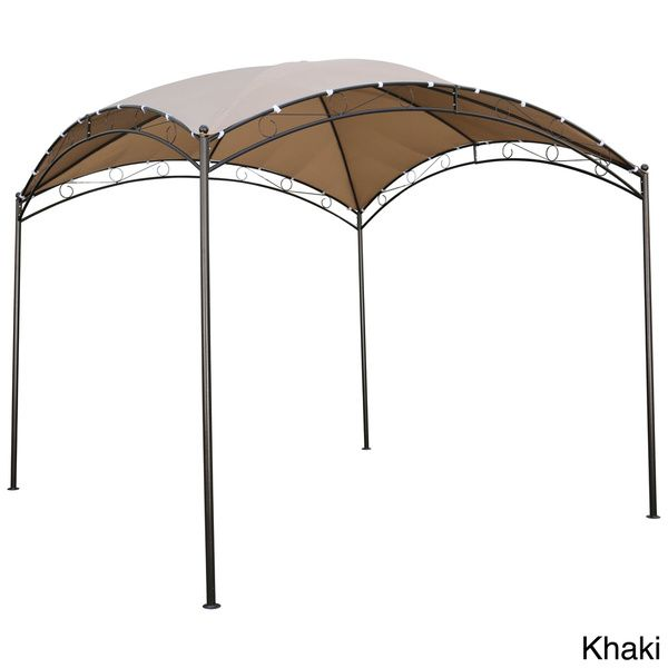 International Caravan St. Kitts 10-foot Steel/ Polyester Fabric Square Dome-top  sc 1 st  Pinterest & International Caravan St. Kitts 10-foot Steel/ Polyester Fabric ...