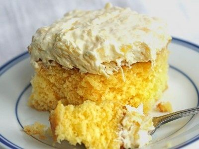 Pineapple and coconut cake recipes