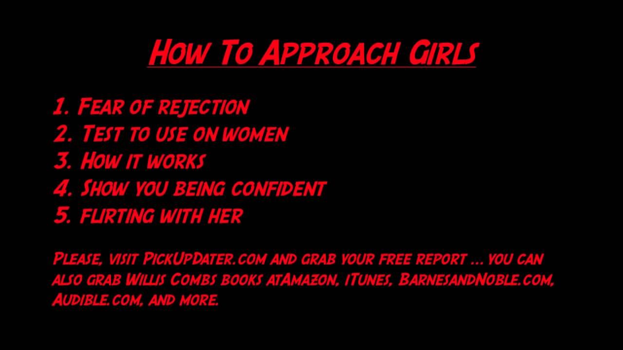 How to approach girls without the fear of rejection and meeting a how to approach girls without the fear of rejection and meeting a witch women ccuart Choice Image