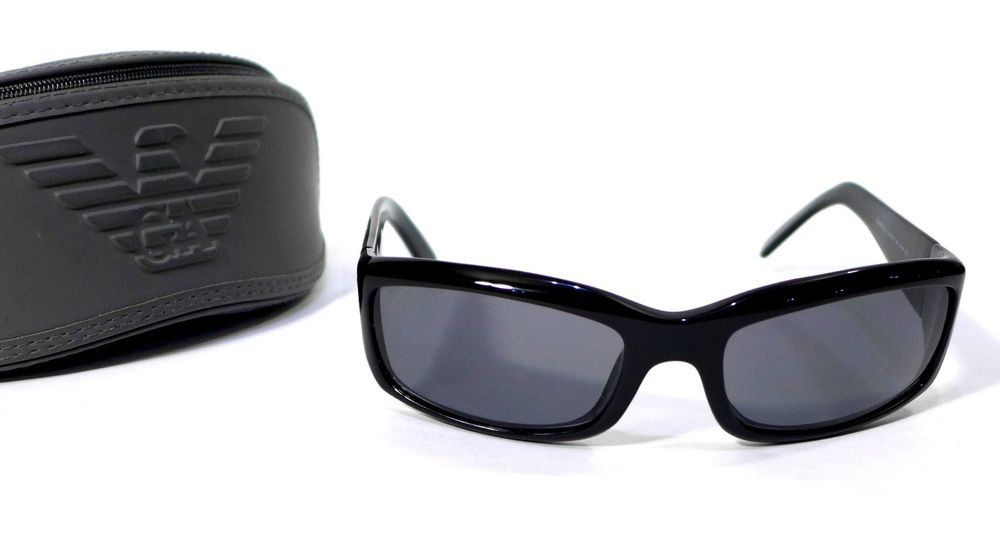 d3c07d22098f Emporio Armani Sunglasses Frames EA9157 S Black Sport With Soft EA Case Exc