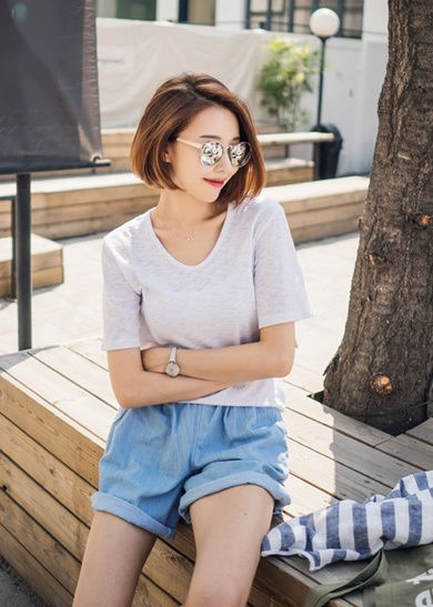 Fashion Asian Fashion And Style Image Korean Short Hair Shot Hair Styles Asian Short Hair
