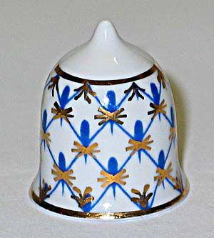 Lomonosov porcelain factory thimble
