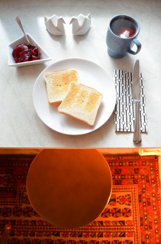 DIY | Frühstücksbar im Marmor - Look