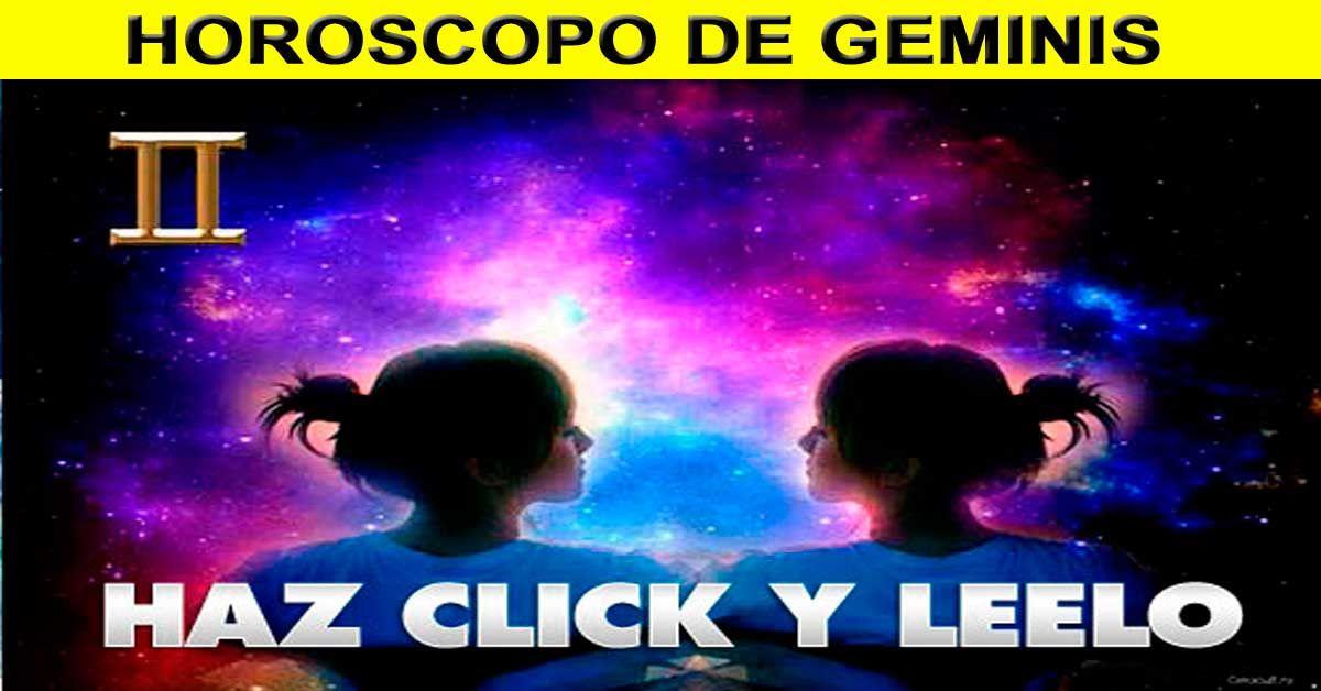 Este Es El Horoscopo De Geminis Para Hoy 2 Octubre 2018
