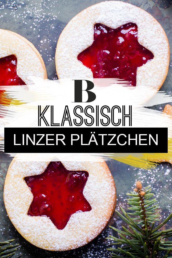 Linzer Plätzchen - das beste Rezept #plätzchenrezept