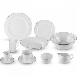 Lunasol - Porzellan-Set 52 tlg. - Premium Platinum Line (490164) Sola #mugsset
