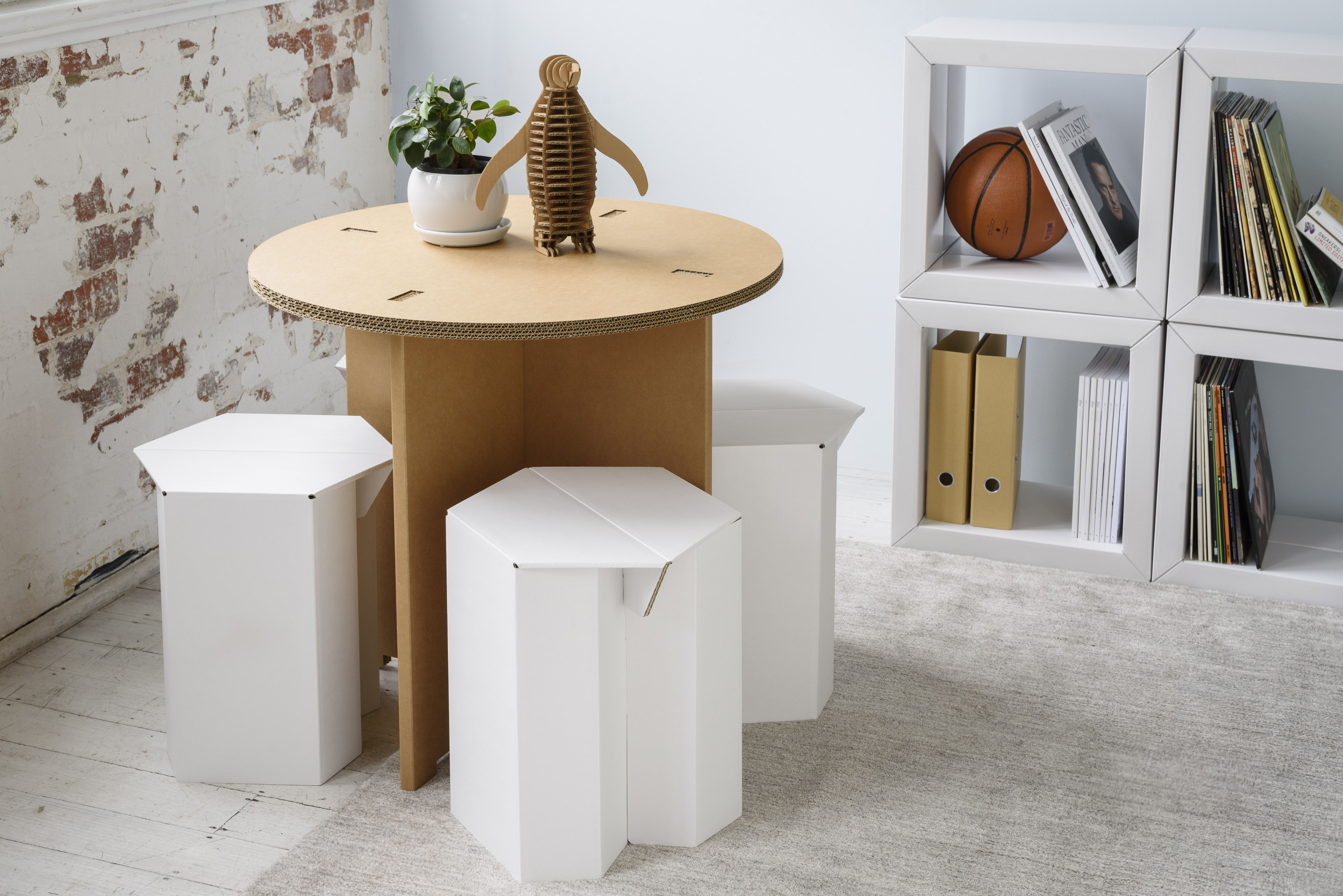 The Bistro & The Hex Stools | Karton | Living Room Style | Pinterest