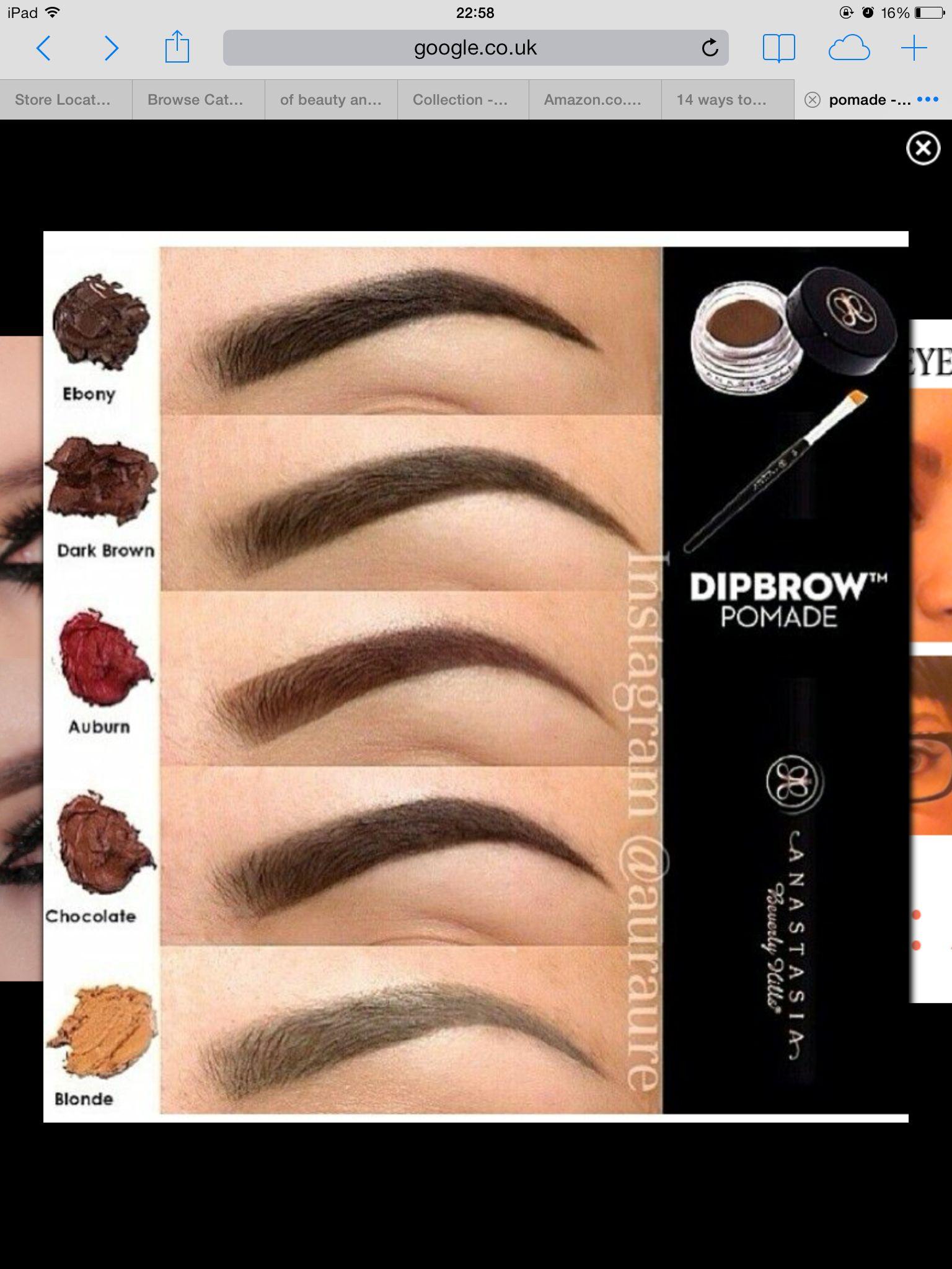 Anastasia eyebrow pomade colors-4243