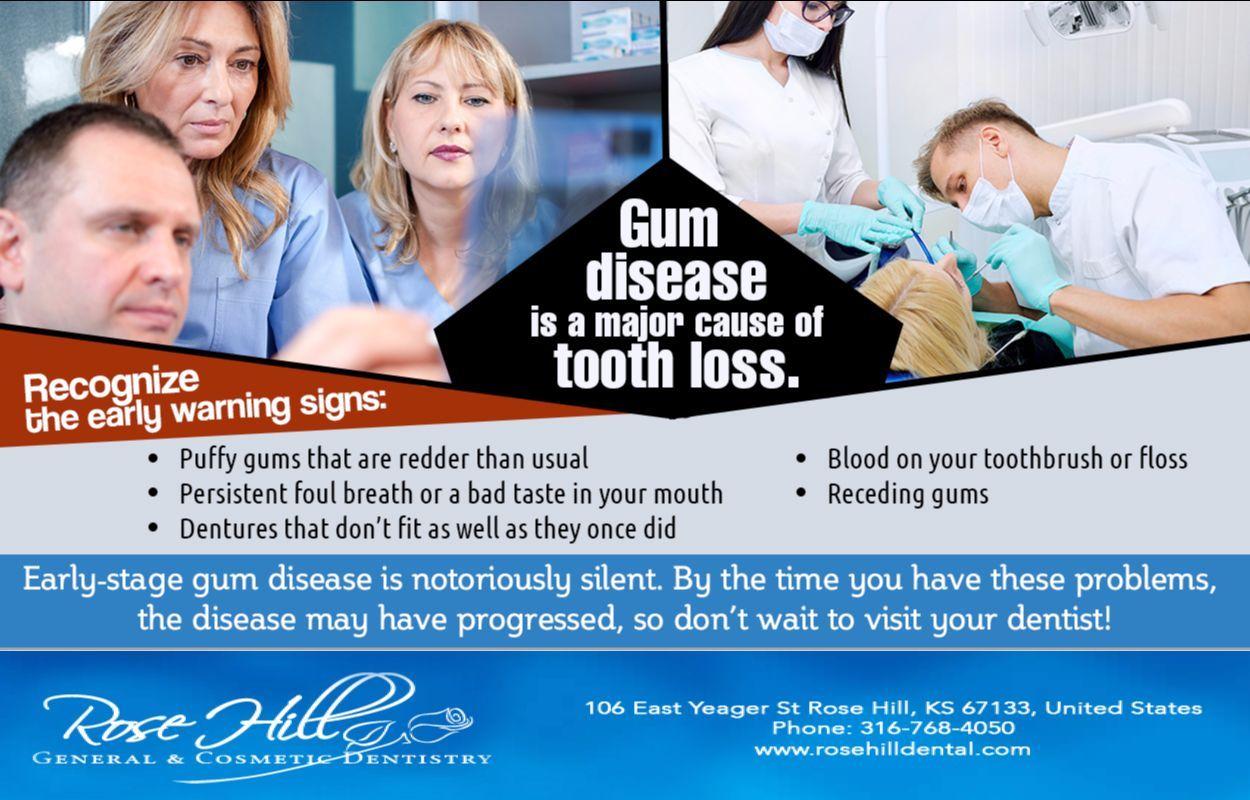 Gum disease is treatable. Unfortunately, the disease is