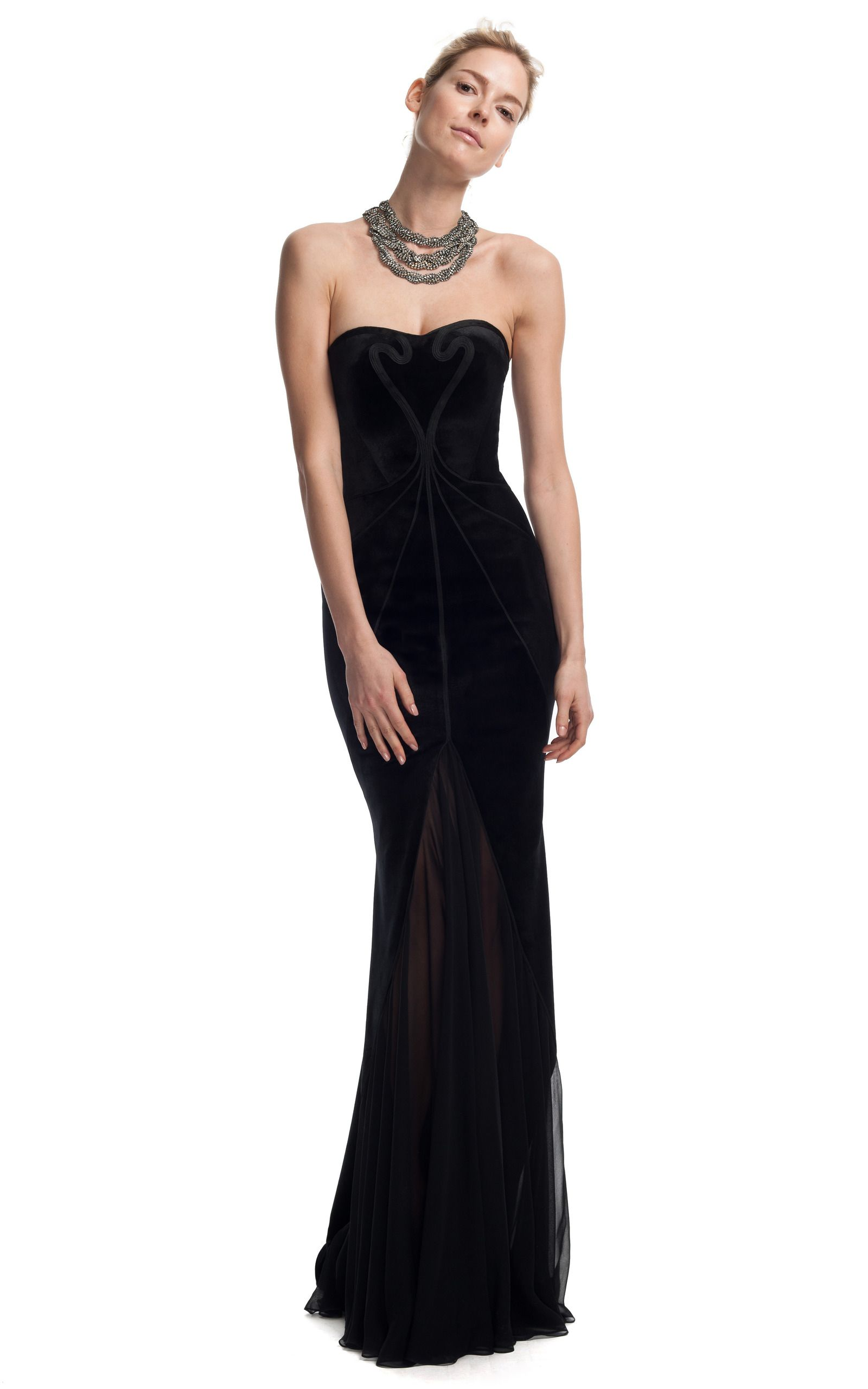 Jet Evening Gown by Zac Posen for Preorder on Moda Operandi   Moda ...