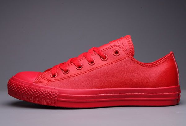0a3b3e9174a99c Classic All Star All Red Converse Chuck Taylor All Star Leather Low  S5712   -  62.00   Canada Converse