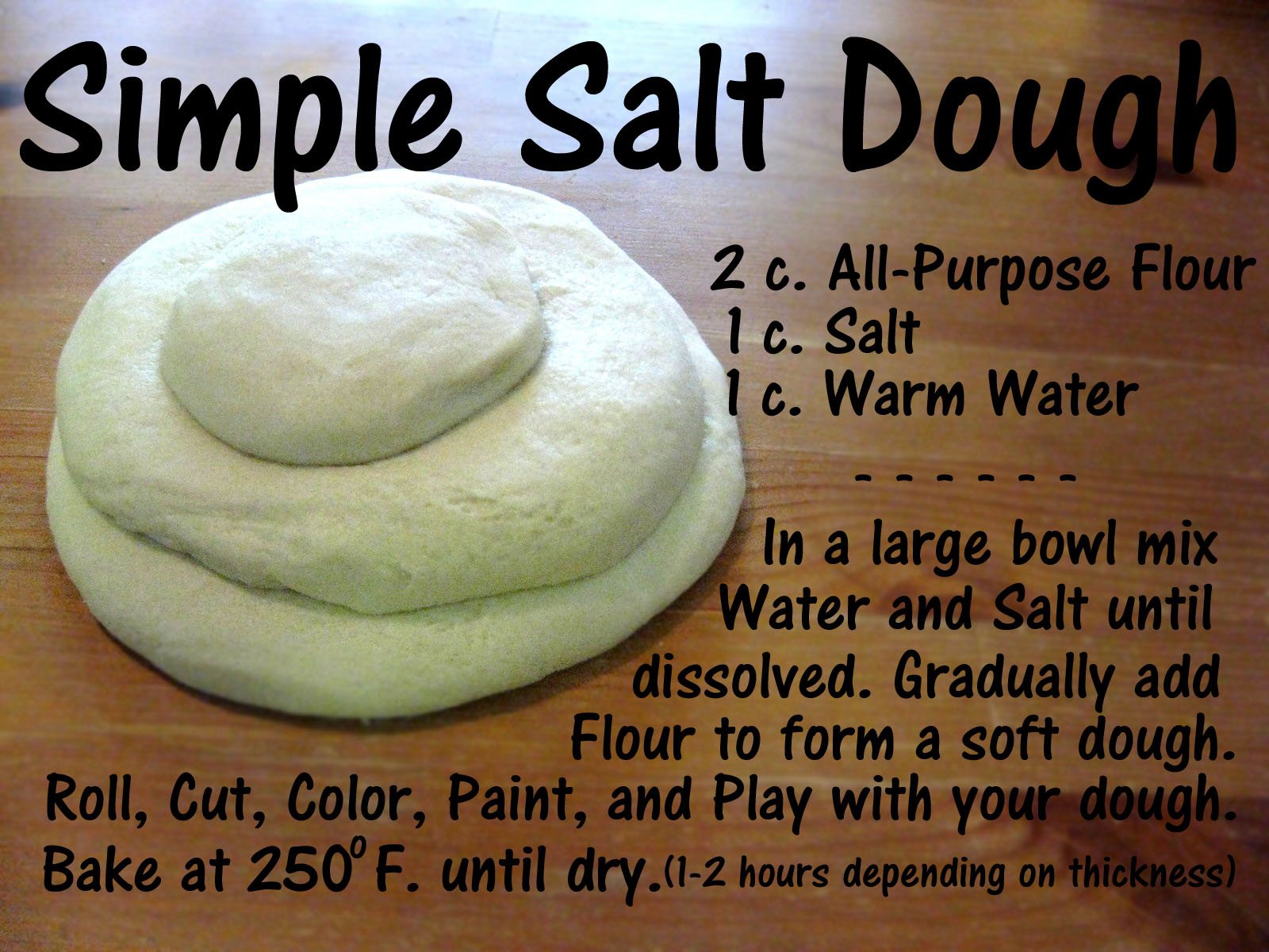 Salt Dough Salt Dough Crafts Salt Dough Christmas Crafts For Kids