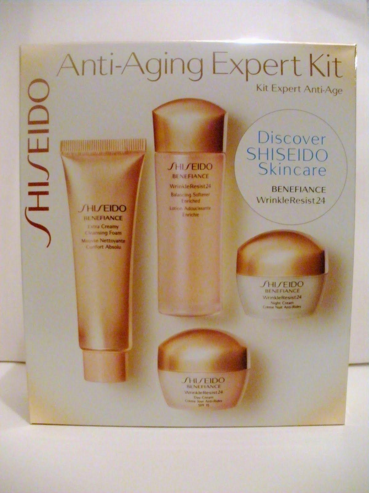 shiseido anti aging expert kit
