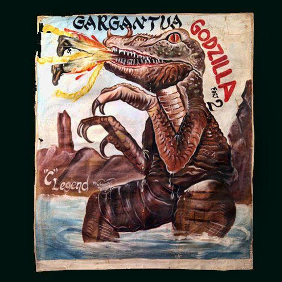 Godzilla Ghana Film Poster
