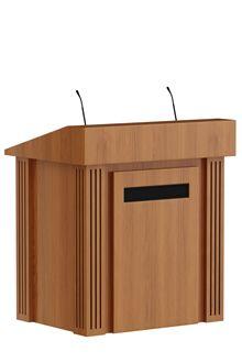 Lectern Conkreto Villa Proctrl Presentation Desk