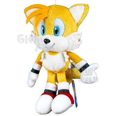 New Genuine Sonic The Hedgehog 8 Tails Sega Game Soft Plush Figure Doll Toy Ebay Sonic The Hedgehog Soft Plush Doll Toys