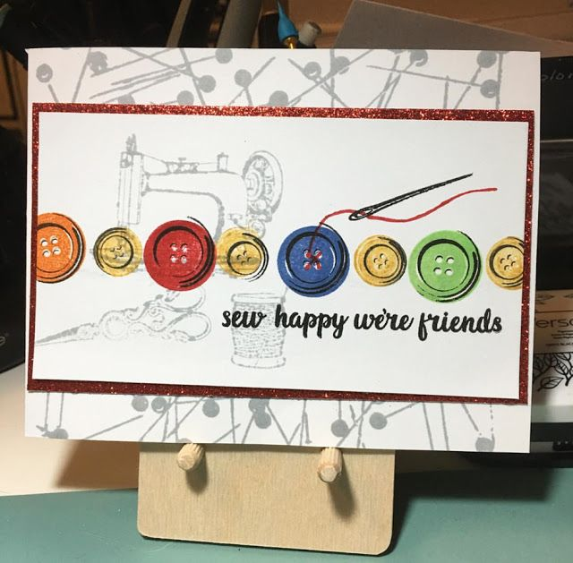 Sunny Studio Stamps: Sunny Saturday Customer Card Share by Bev Ohm