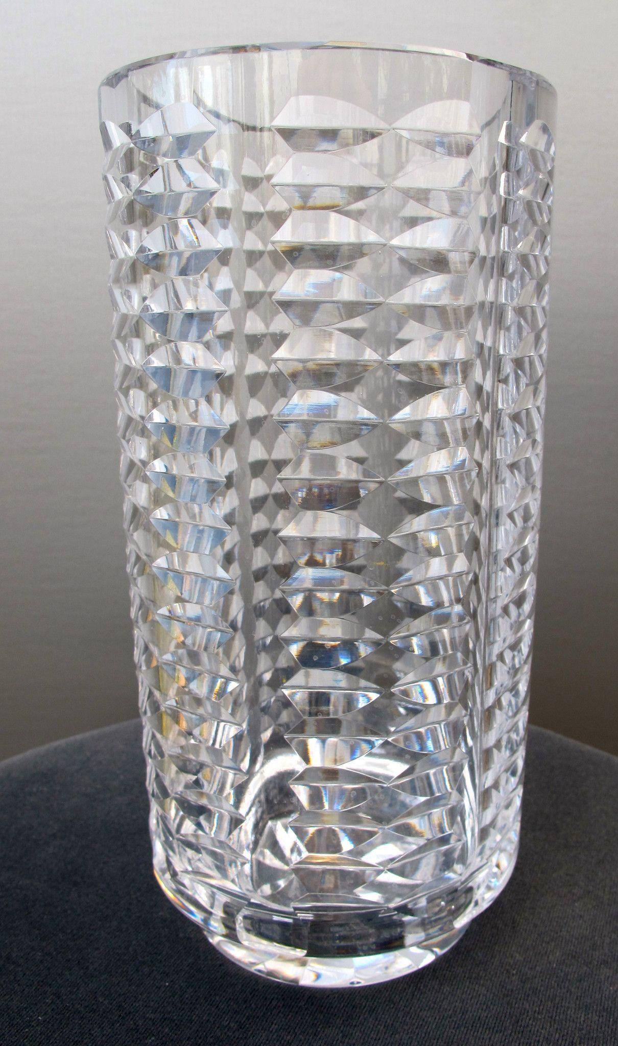 Signed waterford hand cut glass 10 vase irish crystal cut glass signed waterford hand cut glass 10 vase irish crystal reviewsmspy