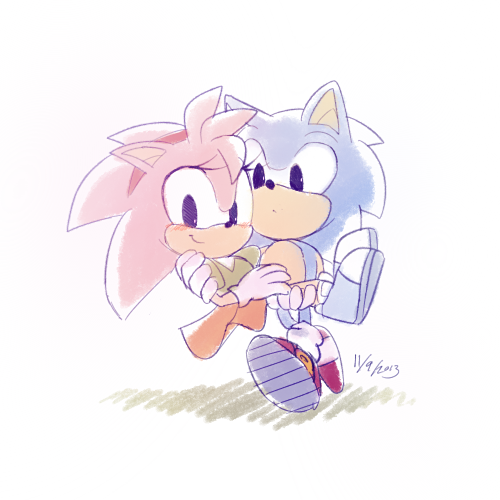 Sonic Amy Classic by shoo8 on @deviantART  These are ADORABLE little hedgies! x3