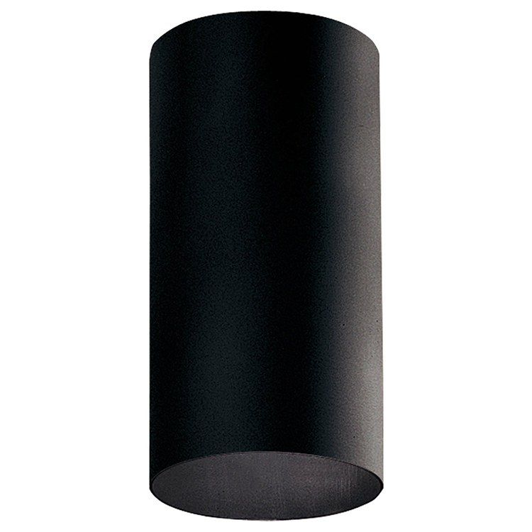 Progress P5741 31 30k 5 Cylindrical Single Light Led Surface Mount Lantern Black Outdoor Wall Lights Outdoor Ceiling Lights Can Lights