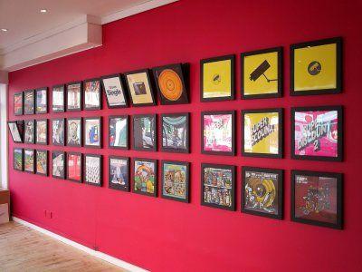 Vinyl frames that flip open for easy access and switcheroo ...
