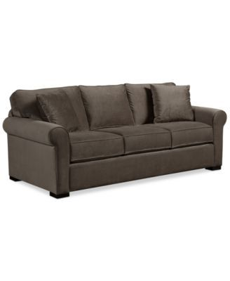 Our Sofa  Macyu0027s Remo II  Mineral (medium Gray)   87  Sofas For Apartments