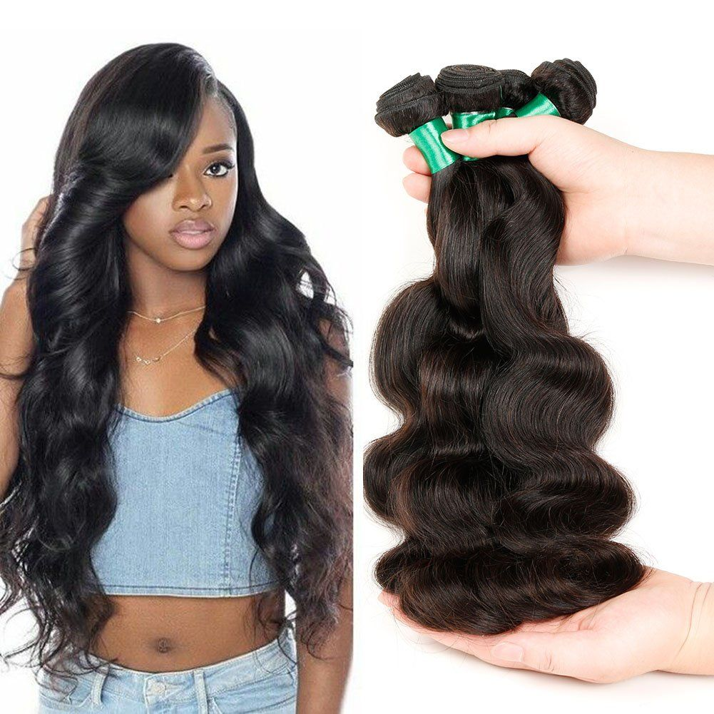 Brazilian Body Wave Human Hair 3 Bundles Virgin Hair Weave Bundles