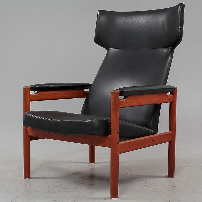 Fåtölj4365 Sören Hansen För Fritz Hansenformgiven 1963 Furniture