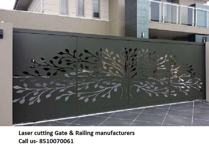 Laser Cut Gate Railing Decorative Screen Metal Steel