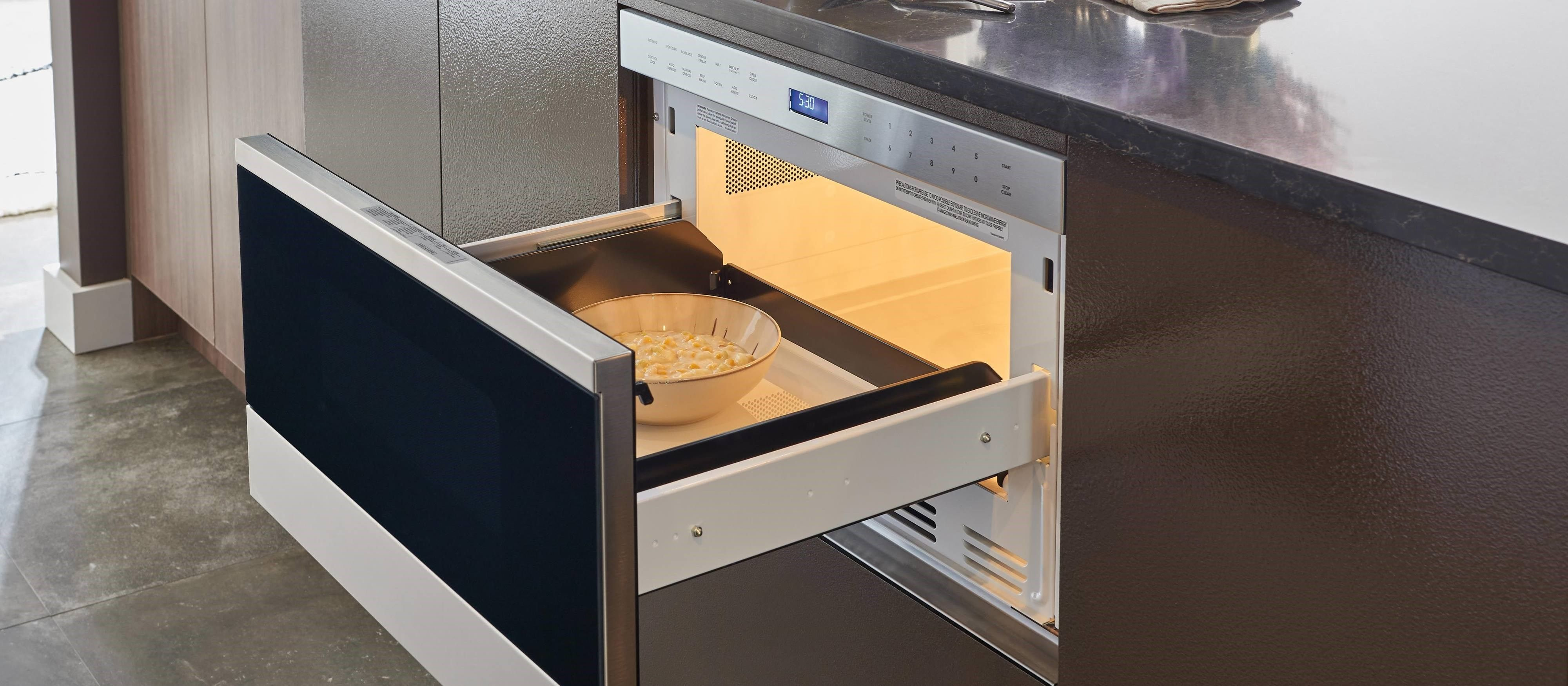Wolf 24 Transitional Drawer Microwave Md24te S Microwave