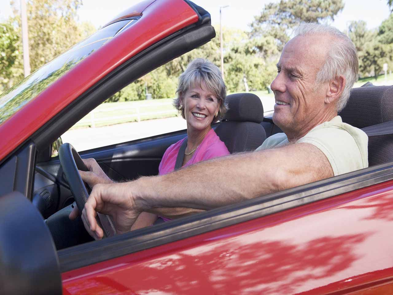 Driving Keeps The Over 50s Socially And Economically Active Car Insurance Car Convertible Top
