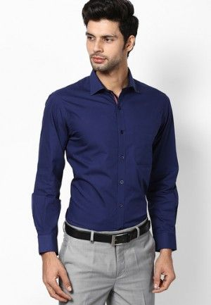 Men S Guide To Perfect Pant Shirt Combination Looksgud In Blue Shirt Outfit Men Blue Shirt Outfits Shirt Outfit Men,How High To Hang A Chandelier
