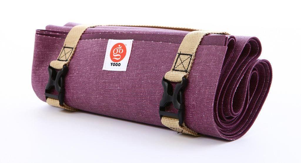 Yogo Mat Ultralight 2 0 Violet Et Pieds