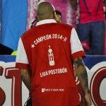 [Galería de Fotos] #PostalesDelLeón @SantaFe Campeón independientesantafe.co/2014/12/galeri… ¡ Grande Santa Fe ! pic.twitter.com/Cm6F0AoJtk