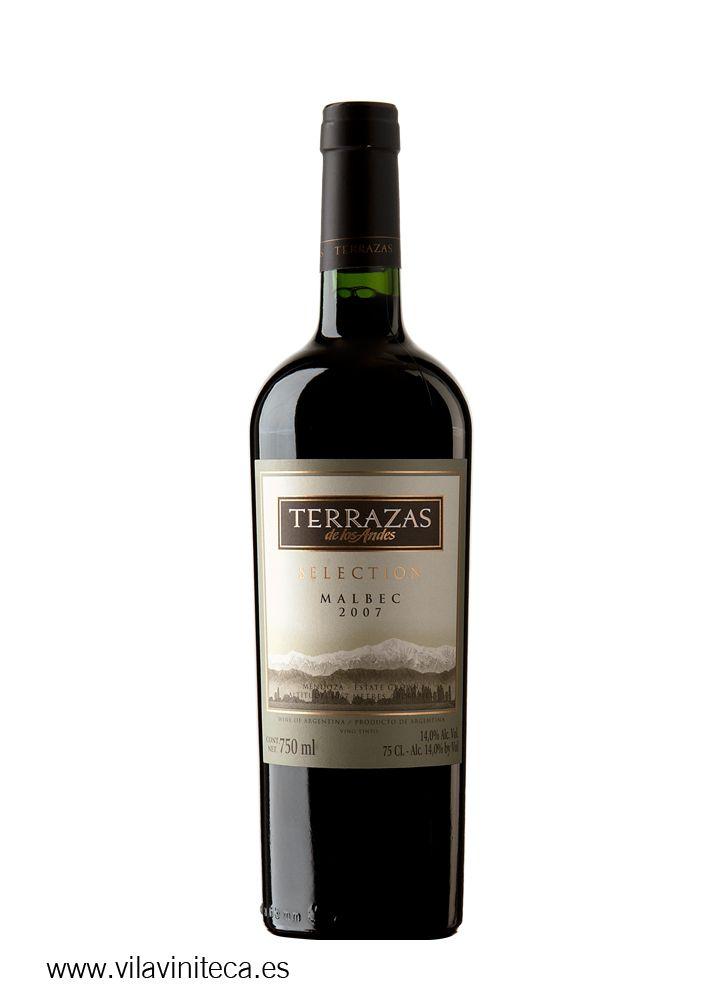 Terrazas De Los Andes Selection Malbec 2011 Malbec Vino Tinto Vinos